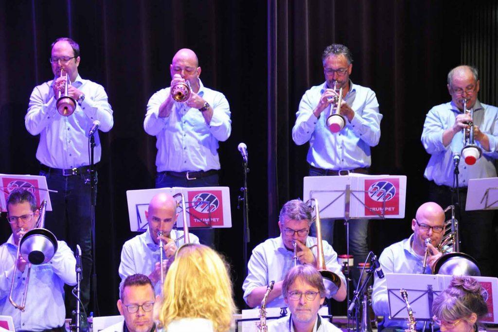 Big Band Beeg tijdens IBBC 2018