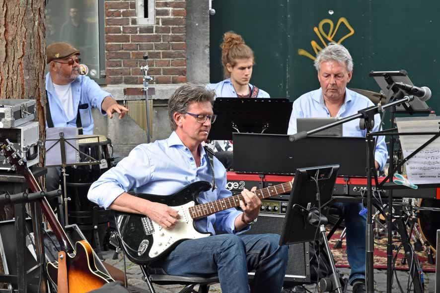 Big Band Beeg tijdens Jeker Jazzfestival Maastricht 2019